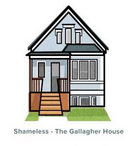 Shameless The Gallagher House