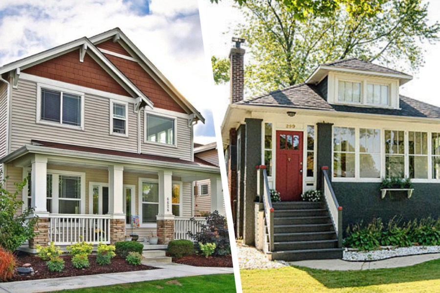Would You Rather  New Or Vintage Craftsman Homes    Real Estate 101     craftsman style homes for sale
