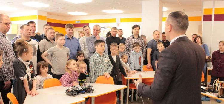 Квант-субботник «С папой вместе» с участием  «Союза отцов Сургута».