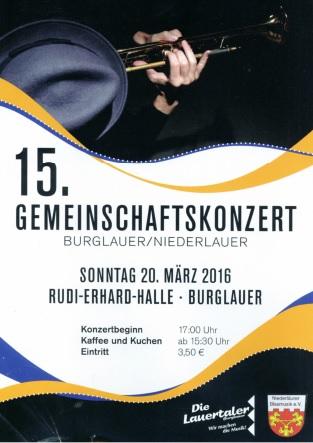 Plakat 16. Gemeinschaftskonzert