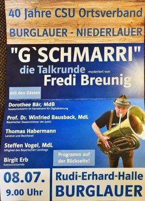 G'Schmarri Burglauer
