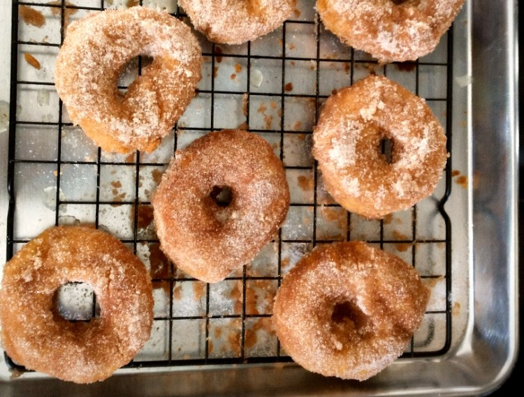 Homemade AllergyFriendly Cinnamon Doughnuts