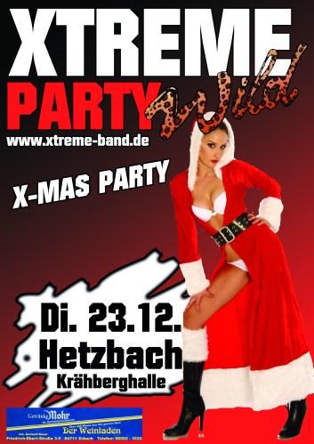 7. X-Mas Party in Hetzbach