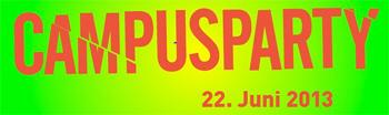 SOundSO-Festival verlängert die Campusparty 2013 - Auch den ganzen Sonntag lang darf entspannt und gefeiert werden
