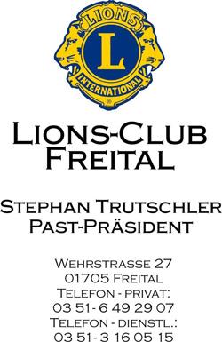 LC Freital hilft LC Pirna mit 5.000 Euro - Anlässlich der Jubiläumsfeier wurden kräftig Flutspenden für Pirna gesammelt