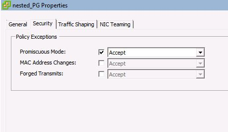 vSphere 5 1: Quick Start with nested Lab-Environment