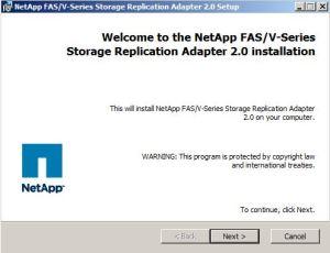 1_netapp_sra_installation