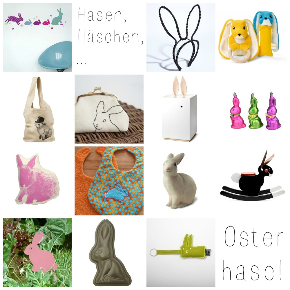 osterhasen  Collage