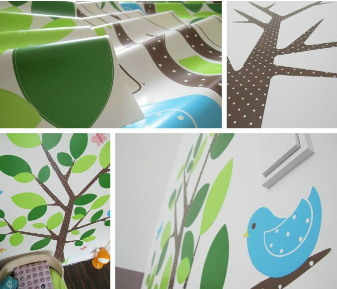 allposters wandtatto kinderzimmer collage by kleinstyle small