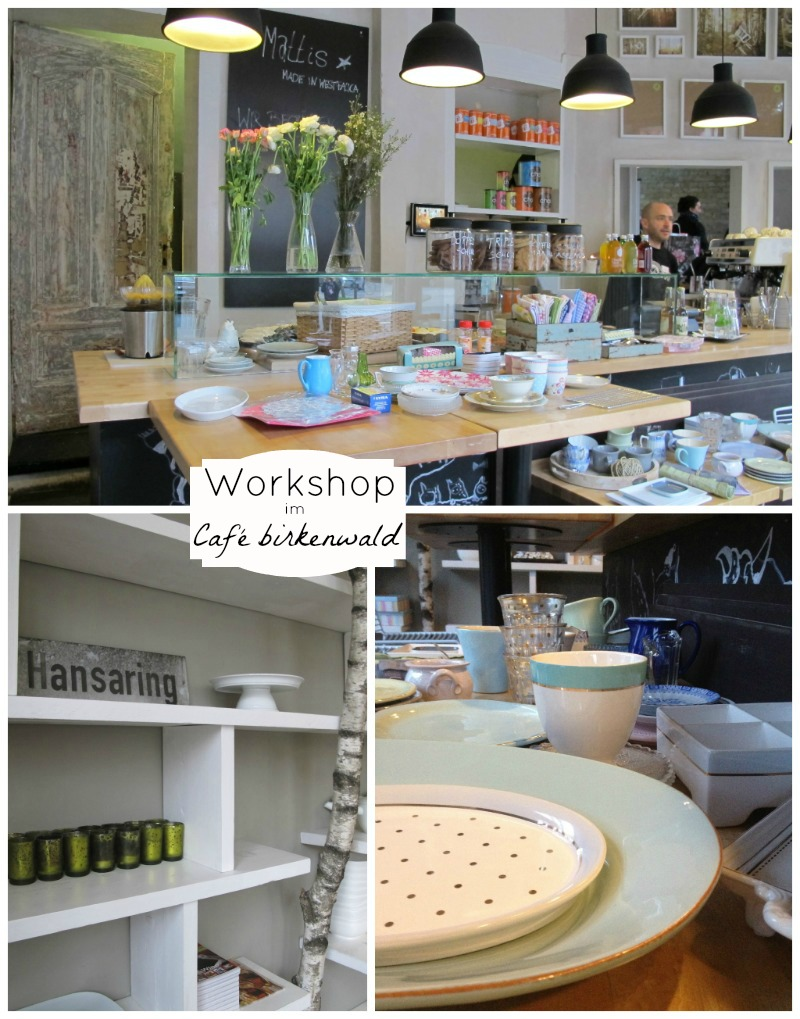 Food Styling and Photography workshop in Münster at Café birkenwald with Liz & Jewels