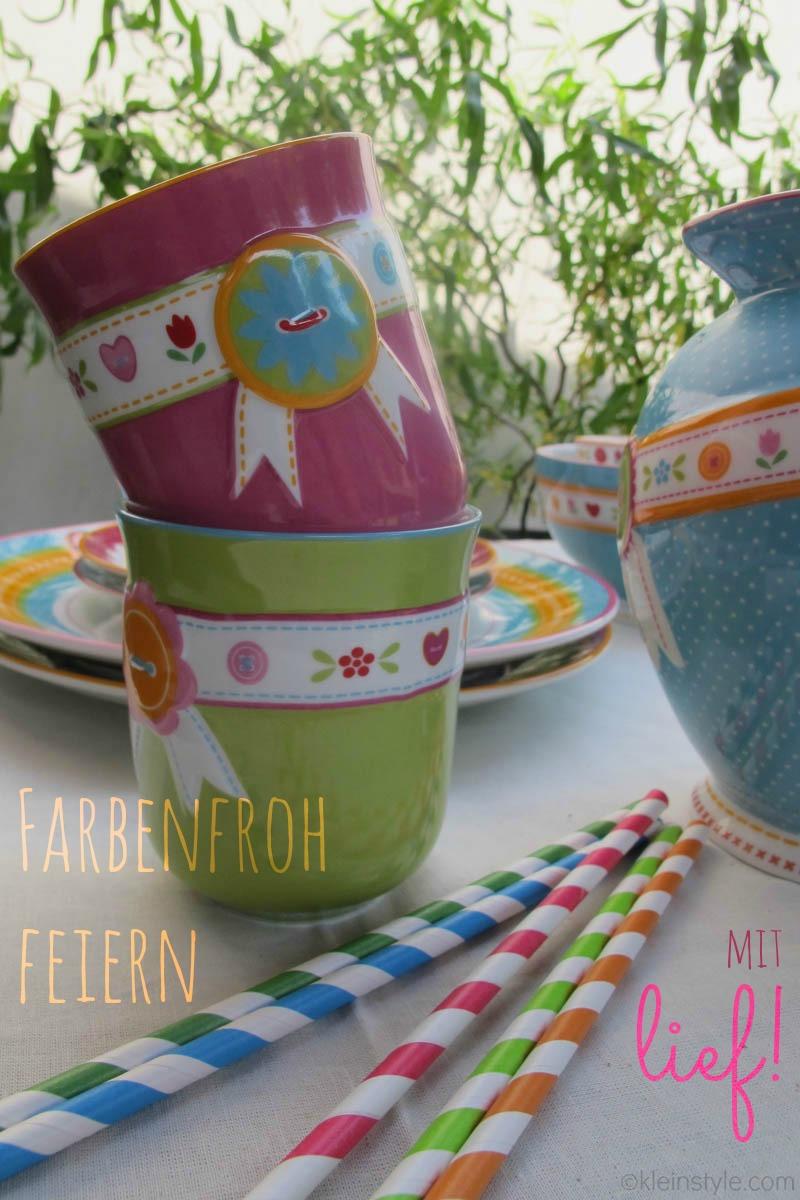 lief party farbenfroh feiern mit lief  ©kleinstyle.com