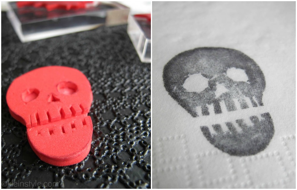 skull totenkopf stempel diy by kleinstyle.com