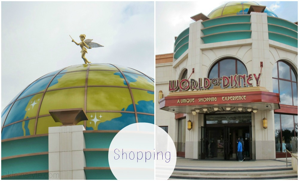 Disneyland Paris Disney Village World of Disney Shopping pic ©kleinstyle.com