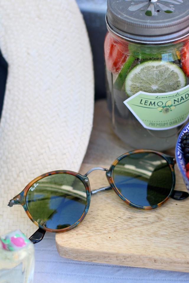 Runde Sonnenbrille von Ray Ban