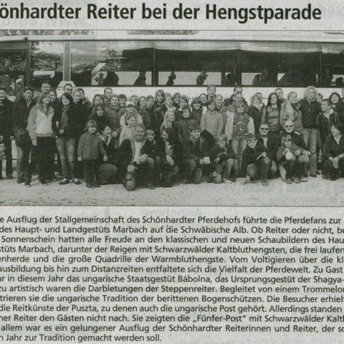 Gmuender Anzeiger 25.11.2009