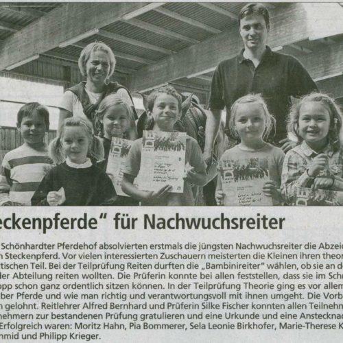 Gmuender Anzeiger 28.10.2009