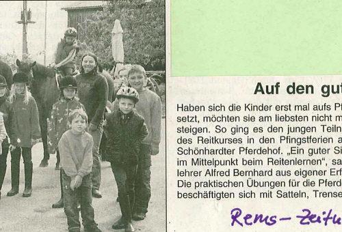 Rems-Zeitung vom 12.06.2007