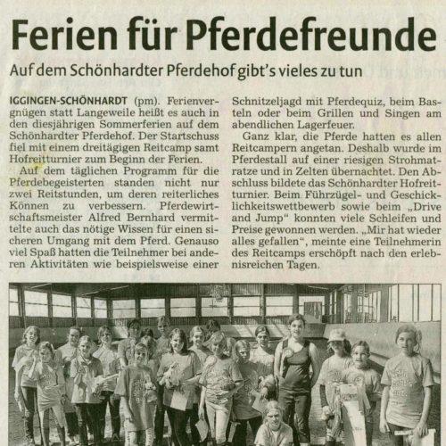 Rems-Zeitung vom 18.08.2009
