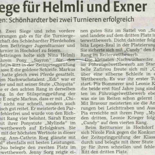Rems-Zeitung vom 22.09.2009
