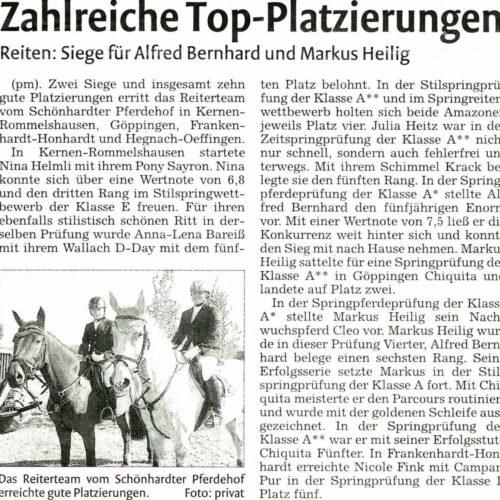 Rems-Zeitung vom 25.04.2011