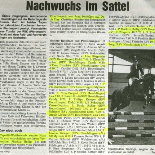 Rems-Zeitung vom 28.03.2009
