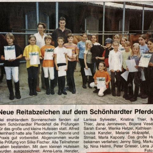 Rems-Zeitung vom 28.07.2007