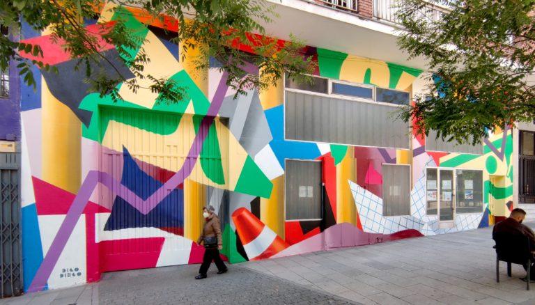 C.A.L.L.E. 2021 Madrid. Image courtesy of Madrid Street Art Project
