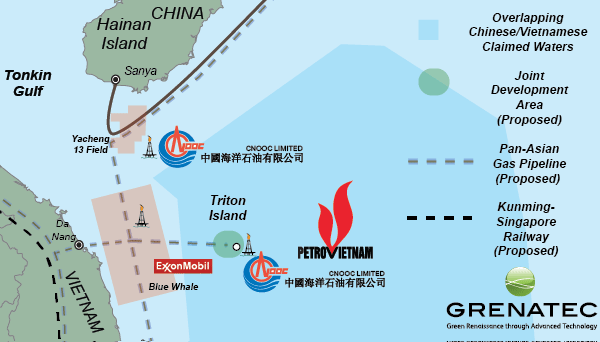 A Triton Island Vietnam/China Joint Development Area would create a precedent-setting example of cooperation in a territorial contentious area of the South China Sea.