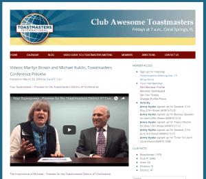 Blog post promoting a conference presentation.