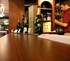 News24-680.com, Walnut Creek News, BevMo's wine tasting area hosted a sparkling collection of champagnes.