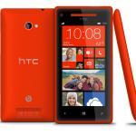 Das HTC 8X mit Windows Phone 8, Farbvariante Flame Red