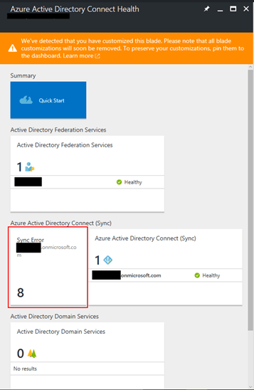 Azure Active Directory Connect Health update – Work Together