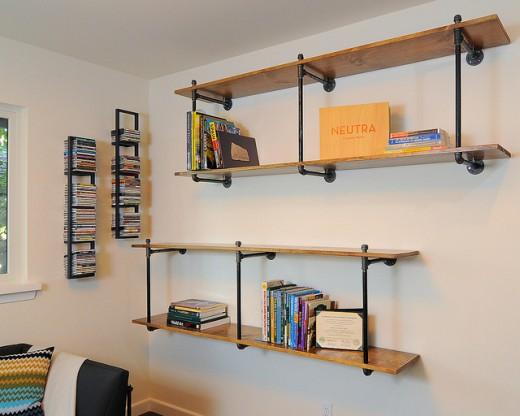 homemade bookshelf designs