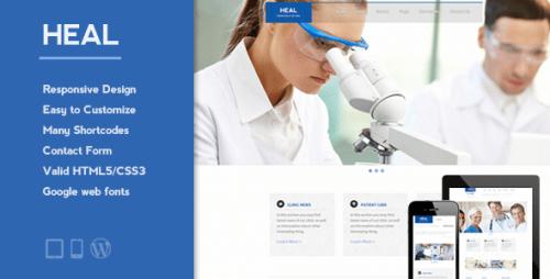 HEAL - Responsive Medical WordPress Theme