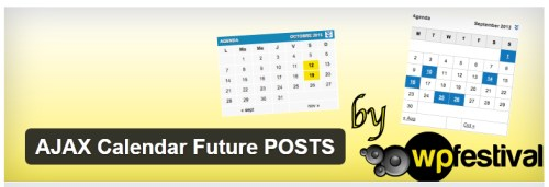 AJAX Calendar Future POSTS