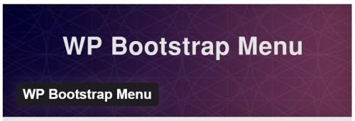 WP Bootstrap Menu