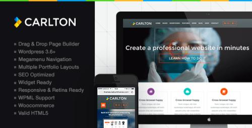 Carlton - Powerful Multipurpose WP Theme