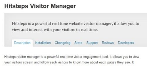 Hitsteps Visitor Manager