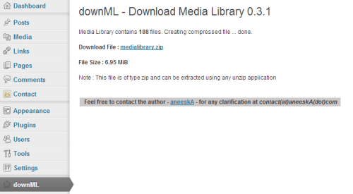downML - Download Media Library