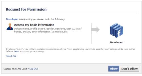 JSL3 Facebook Wall Feed