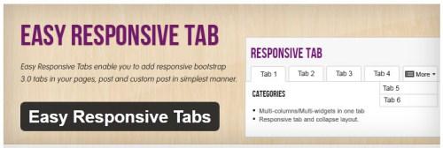 Easy Responsive Tabs