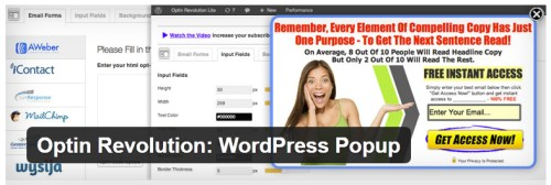Optin Revolution: WordPress Popup