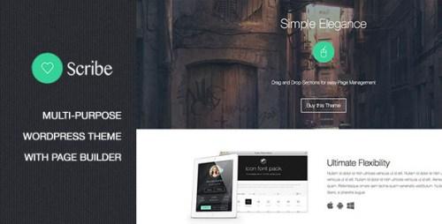 Scribe - Multi-Purpose WordPress Technology Theme