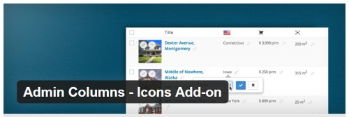 Admin Columns - Icons Add-on