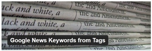 Google News Keywords from Tags