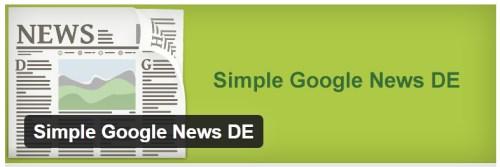 Simple Google News DE