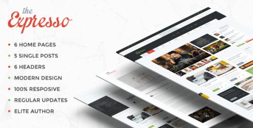 Expresso - Modern Magazine and Blog WordPress Theme