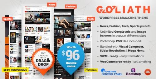 Goliath - Ads Optimized News & Reviews Magazine Theme
