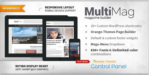 MultiMag - Multipurpose Magazine Theme