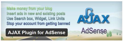 AJAX Plugin for AdSense